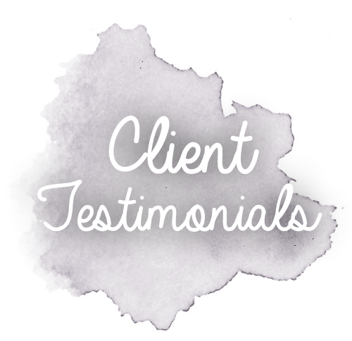 Testimonials from acupuncture and nutrition clients